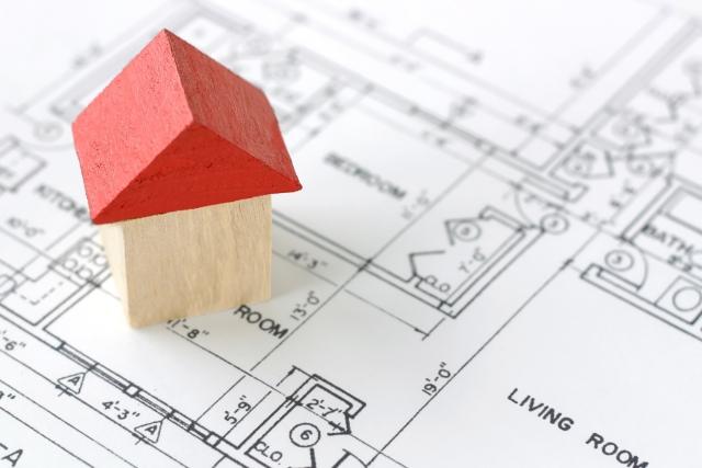 積み木の家のイメージ