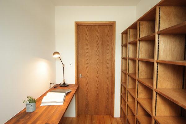 造作本棚のイメージ