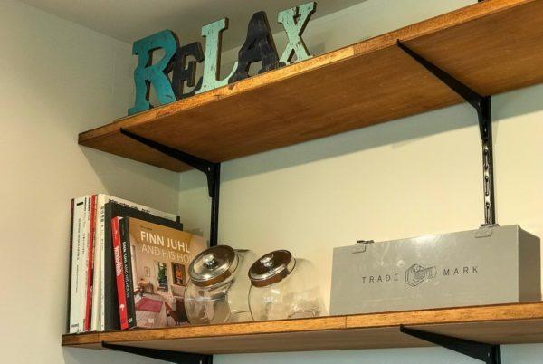 シンプル本棚