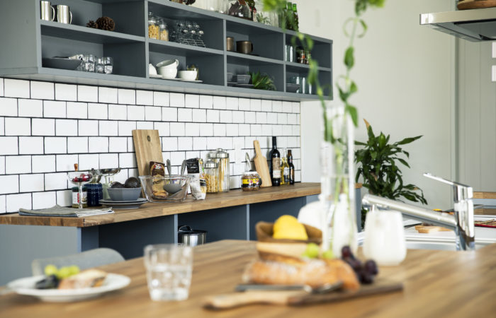 キッチン造作棚