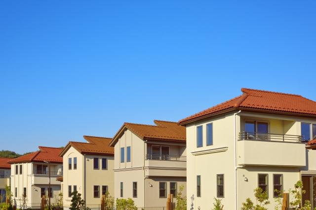 建売住宅の団地のイメージ