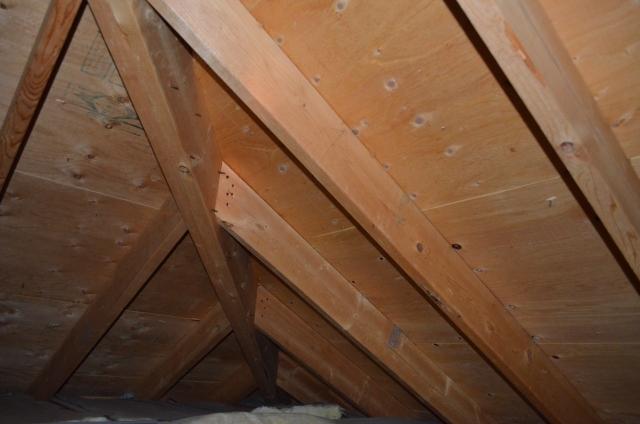 ロフトの屋根裏のイメージ