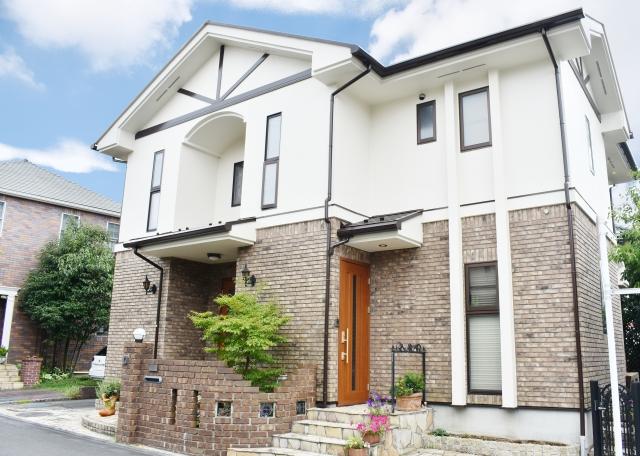 おしゃれな二世帯住宅のイメージ