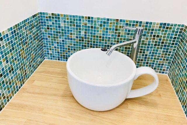 コーヒーカップ型洗面