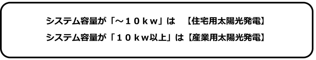 太陽光発電システム容量