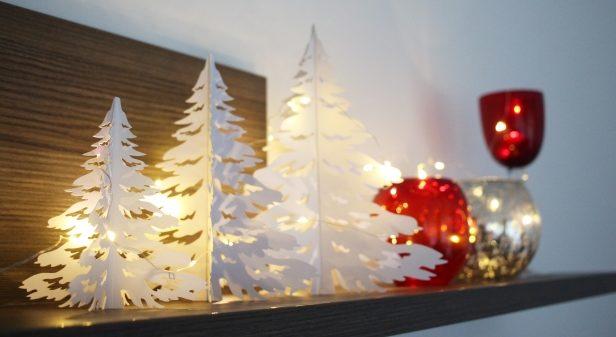 飾り棚クリスマス