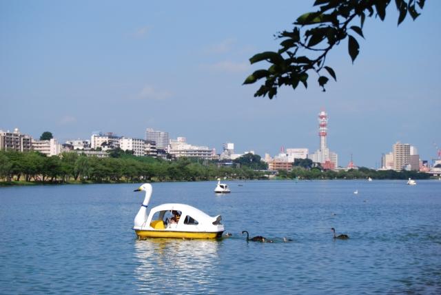 水戸の都市公園 千波湖のイメージ