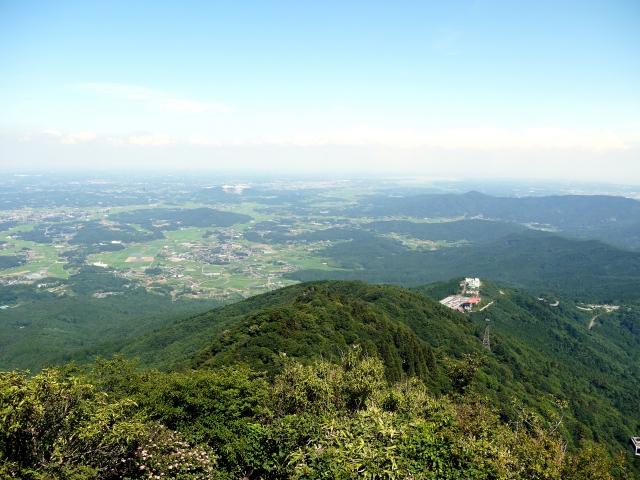 筑波山 山頂からの景色のイメージ